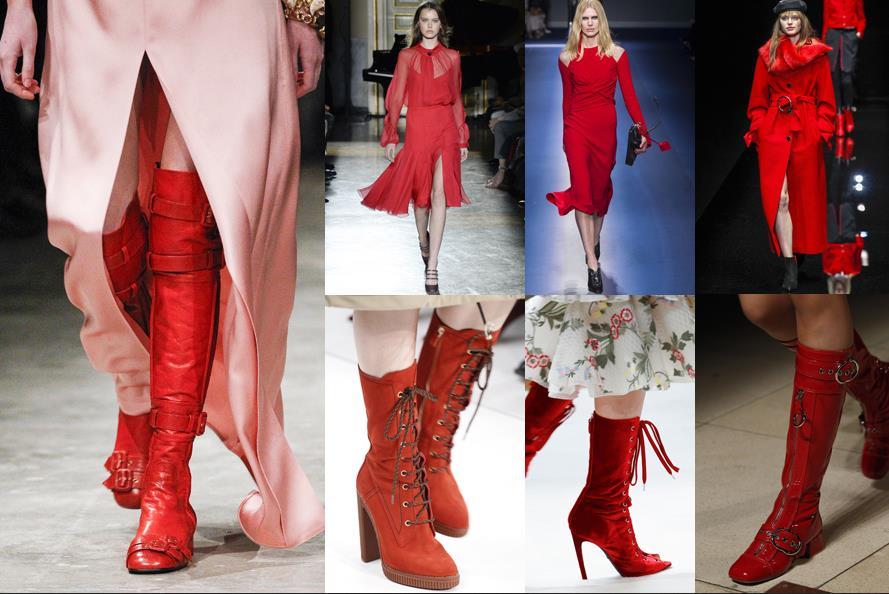 ea51a6acf912 Το κόκκινο της φωτιάς είναι από τα must χρώματα που θα φορεθούν. Φορέματα,  παντελόνες, σακάκια, μέχρι και πουλόβερ. Η απόλυτη μονοχρωμία δεν  απαγορεύεται ...